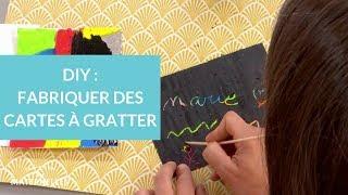DIY : une carte à gratter - La Maison des maternelles #LMDM