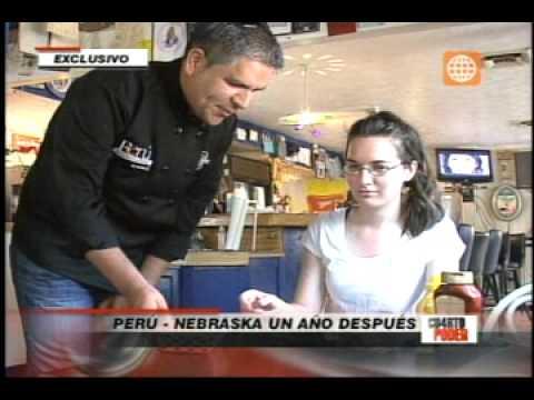 Perú -- Nebraska, un año después (Cuarto Poder - 22-04-12) - YouTube