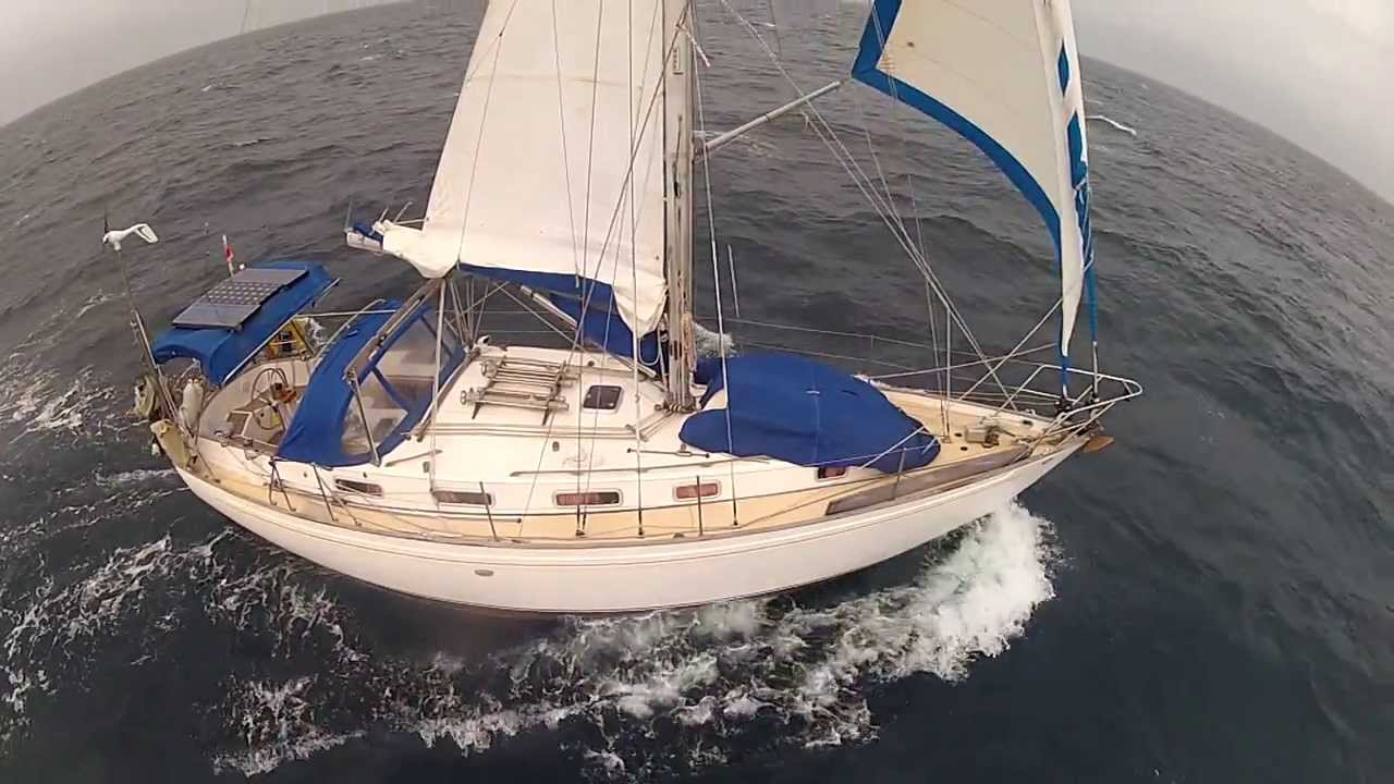 Yacht Delivery Vancouver 36 - YouTube