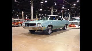 1970 Buick GS Gran Sport Convertible in Aqua Mist & 455 Engine Sound My Car Story with Lou Costabile