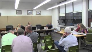 Lake County School District #7 school board meeting 8-11-2014