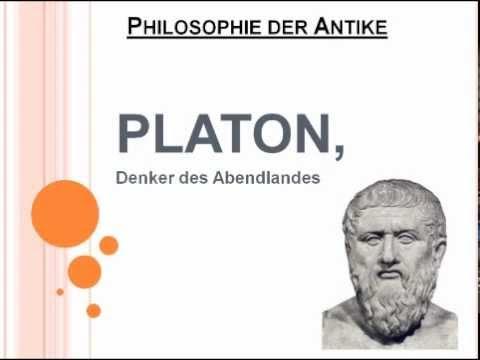 Platon, Denker des Abendlandes