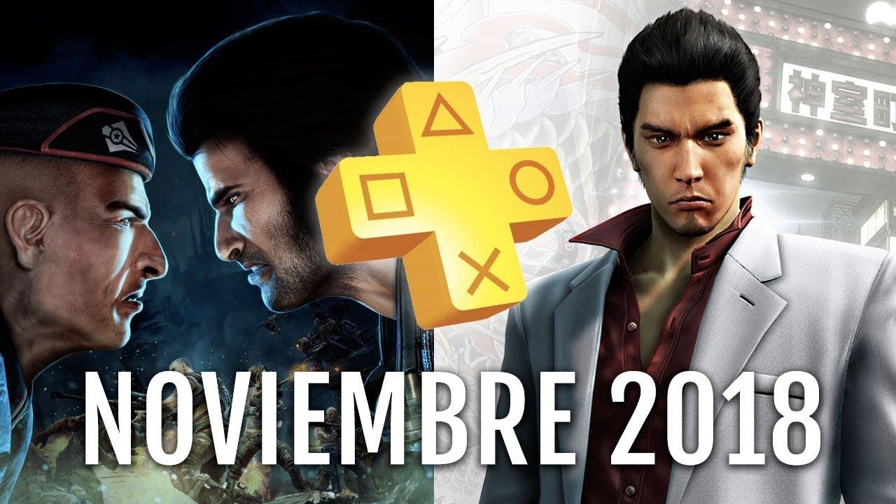 Juegos De Playstation Plus De Noviembre 2018 Youtube