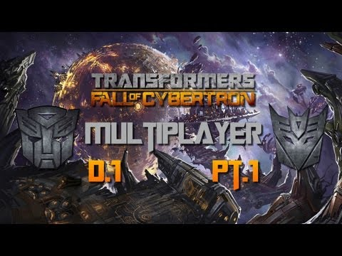 Transformers: Fall Of Cybertron - Multiplayer (Дубль 1) Pt1
