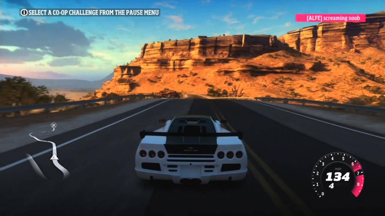Forza Horizon - SSC Ultimate Aero Online Race - YouTube  Forza Ssc Ultimate Aero Igcd