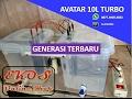 Mesin AIR ALKALI Generasi Terbaru AVATAR 10 Liter TURBO. 0877-3905-4852