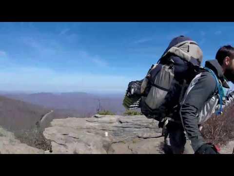 Appalachian trail 2017 Erwin to Damascus