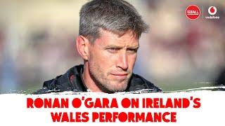 Ronan O'Gara | James Ryan brilliance, centre pairings, back line involvement, Wales review