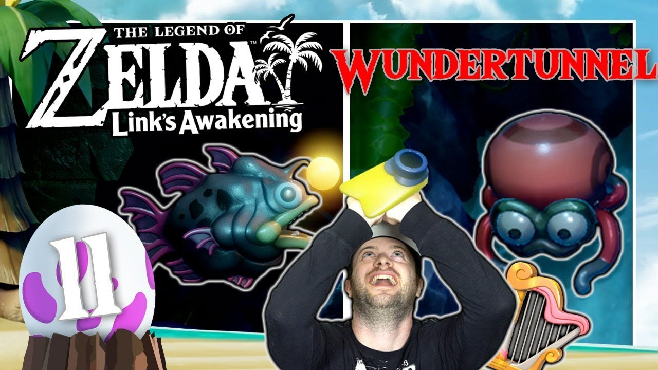 THE LEGEND OF ZELDA LINK'S AWAKENING 🗡️ #11: Gegen Cue Ball & Piranha-Killer im Wundertunnel thumbnail