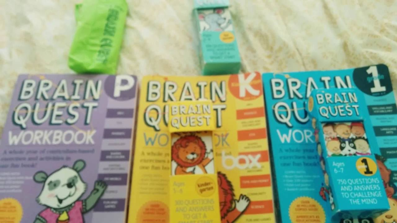 small resolution of Brain Quest for kids - YouTube