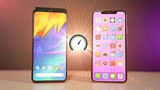 Google Pixel 4 XL vs iPhone 11 Pro Max - Speed Test!