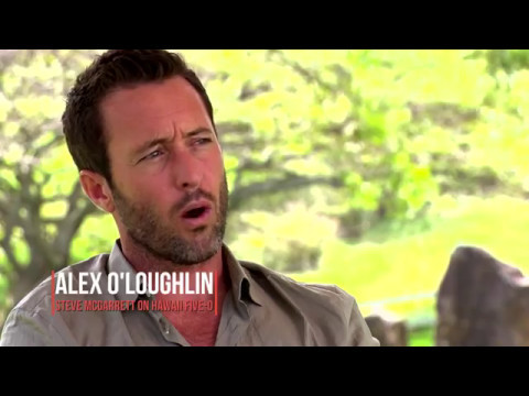 Alex O'Loughlin  Inspired by Hawaii