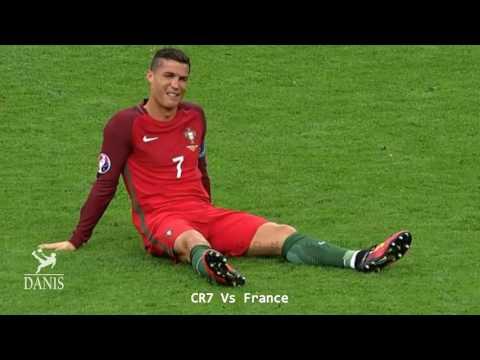 Lionel Messi & Cristiano Ronaldo • Brutal Tackles, Fouls