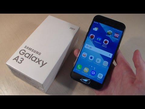 Обзор Samsung Galaxy A3 2017 (A320F)