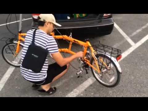 Folding Tandem Bike KHS T20 จักรยานสองตอนพับได้