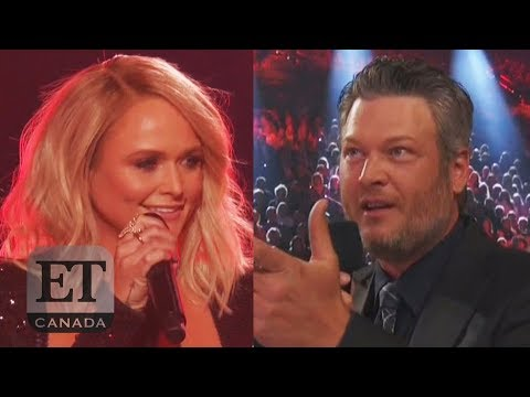 Christina Martinez - Miranda Lambert takes a jab at ex-Blake Shelton during a performance Sunday