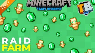 SIMPLE Raid Farm MCPE | Truly Bedrock Season 2 [26] | Minecraft Bedrock Edition 1.16.2 SMP