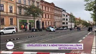 Fegyveres támadás történt több zsidó vallási intézménynél a németországi Halle városában.