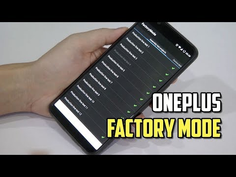 How to test OnePlus Smartphone Hardware with FactoryMode?