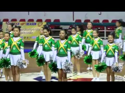 DLSZ Grade School Cheering Squad @ 2018 WNCAA Cheer Dance Competitions :Video by TGS&A