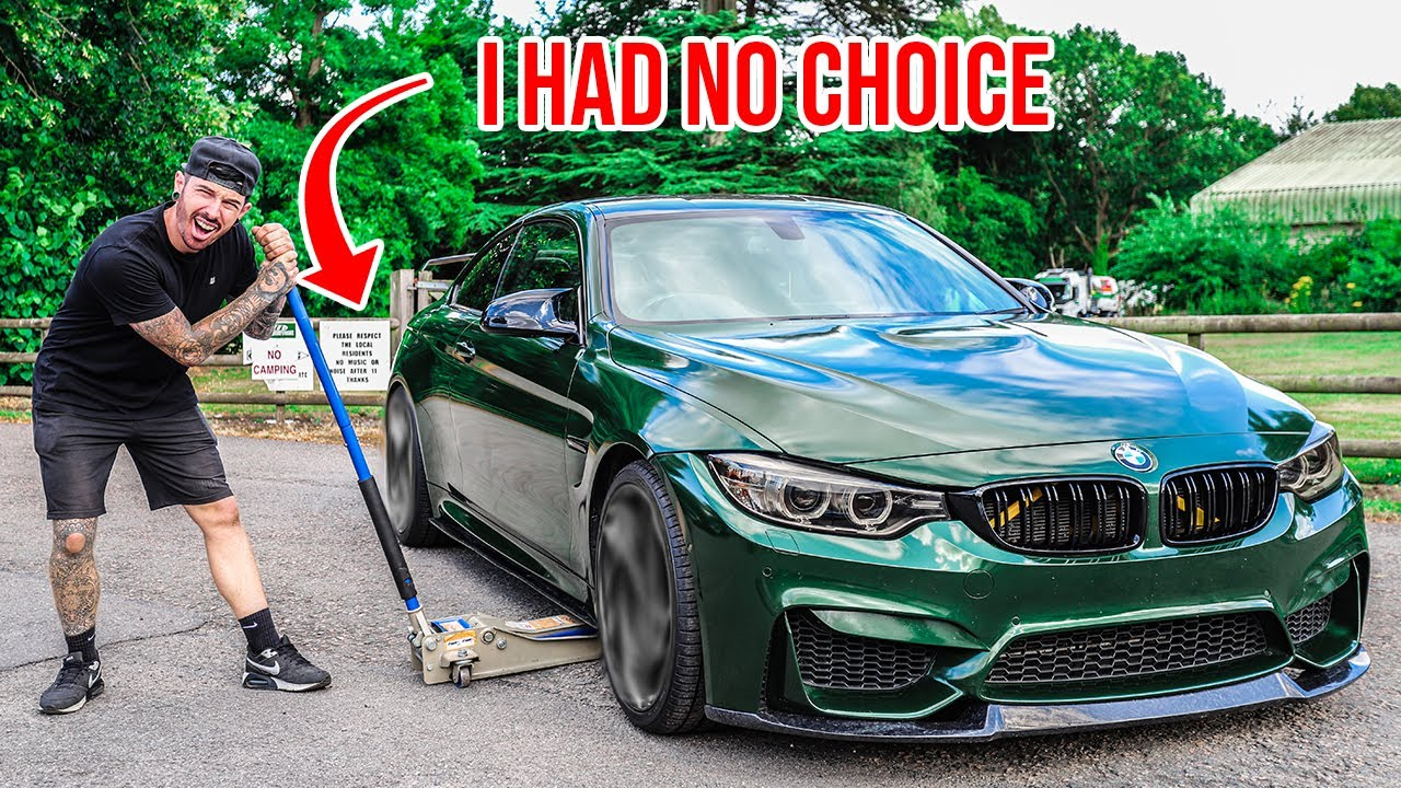 THESE MODS SHOULD FINISH MY WRECKED BMW M4