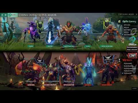[FR] China Super Major Qualifiers NA : VGJ.storm vs Optic Gaming   Game 1