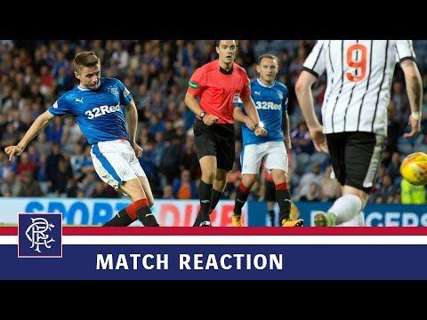 REACTION | Jordan Rossiter | Rangers 6-0 Dunfermline