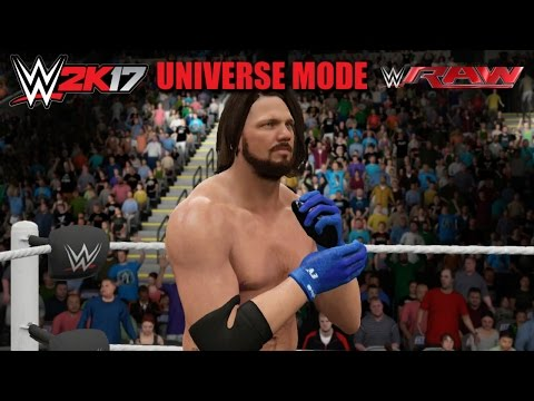 WWE 2K17 UNIVERSE MODE | RAW IS HEATING UP! ... LIVE!! (EP6)