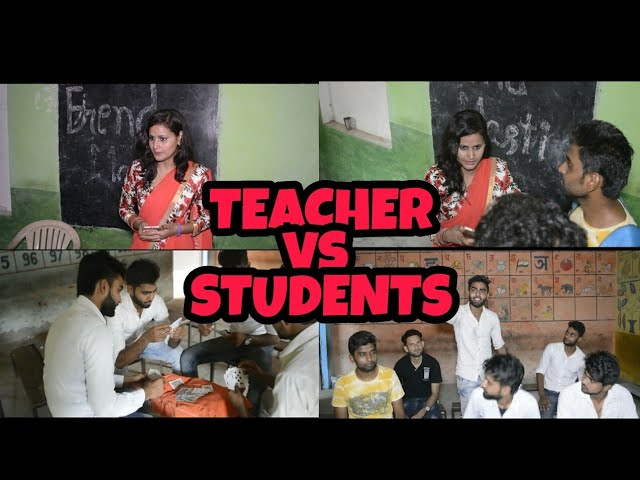 Teacher vs Student school life part-1 karanpuriya chore    Raj Chauhan   