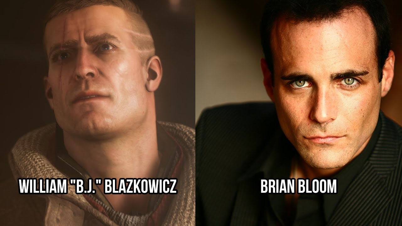 characters and voice actors - wolfenstein ii  the new colossus