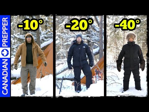 3 Levels of Cold Weather Clothing: Cool, Cold and Extreme!
