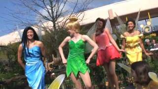 Epcot Flower & Garden Festival 2009 with Disney Fairies