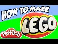Play-Doh Surprise Egg!  How-To Make Lego Logo II