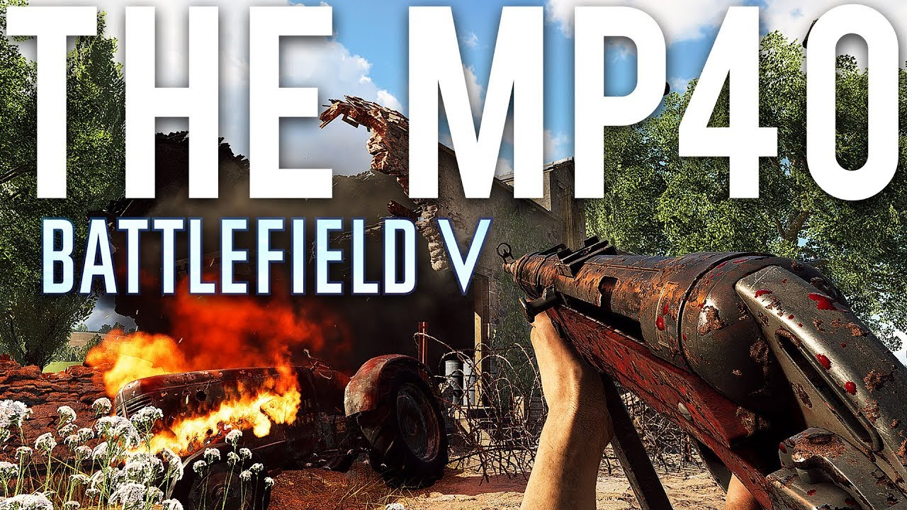 Das MP40 - Battlefield 5 + video