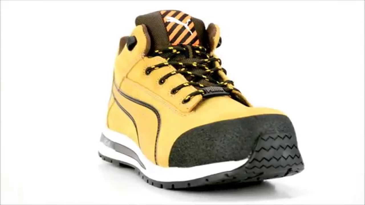 Mens Puma 633185 Composite Toe Metal