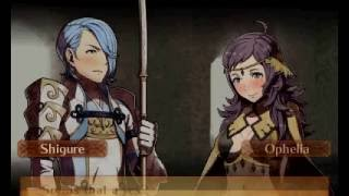Fire Emblem Fates: Revelation - Shigure and Ophelia Support Love Story