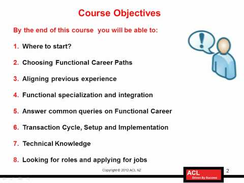 How to make career as Oracle Functional Consultant - 1/13
