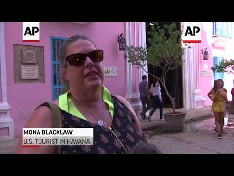 US Tourists Continue Travel to Cuba