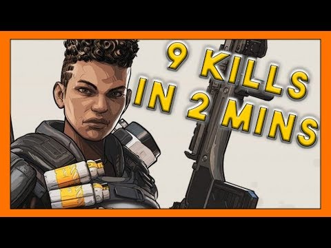 9 Kills in 2 Minutes?! - Seagull - Apex Legends