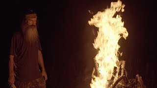 Phil Robertson is Starting a Fire | In the Woods with Phil | CRTV