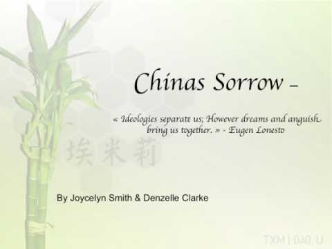China sorrow