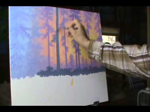 Vid 15 Del 11. At male en solnedgang, måne og strand from YouTube · Duration:  2 minutes 20 seconds