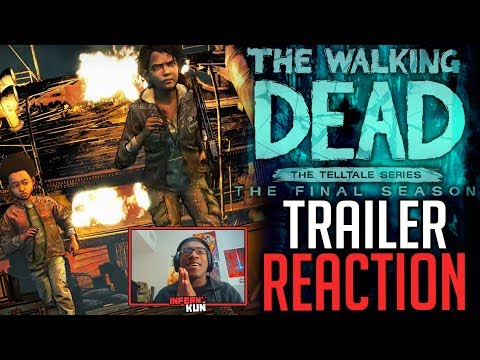"TRAILER REACTION – The Walking Dead: The Final Season Episode 4 ""Take Us Back"" Official Trailer"