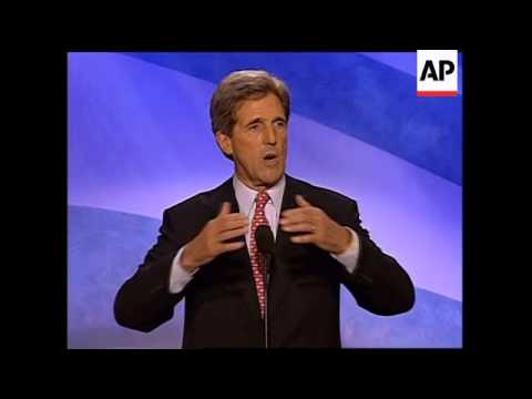Kerry accepts nomination for Democrats