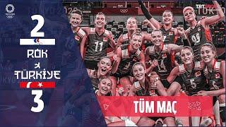 ADIM ADIM FİNALLERE! Türkiye 3 - 2 R.O.K. (Maçın Tamamı) | Tokyo 2020 Olimpiyatları