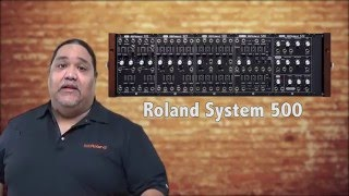Roland JD-Xi - Analog Synth Part explanation