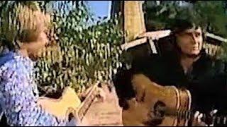 Johnny Cash & John Denver - Take Me Home, Country Roads (Rare Footage)