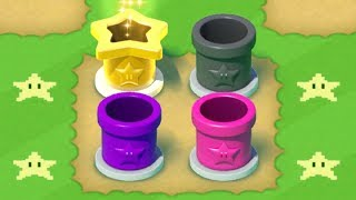 Super Mario Run - All 4 Secret Pipe Courses