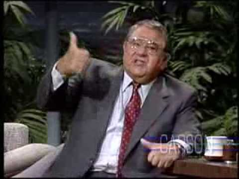 Buddy Hackett Tells Farking Ticket Joke, Johnny Carson's Tonight