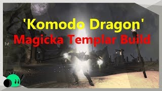 'Komodo Dragon' Magicka Templar Build (RIDICULOUS STATS!)